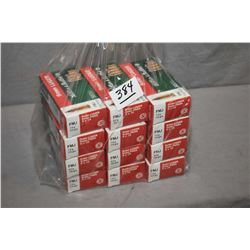 Bag Lot : 12 Boxes ( 50 rnds per ) Lellier & Bellot .9 MM Luger Cal 115 Gra and 124 Gr FMJ Ammo