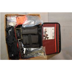 Lot of Two Iitems :Tray Lot : Milwaukee Case : 3 7.62 x 51 Pinned Mags - Bag : Mag Covers for 5.56 ?