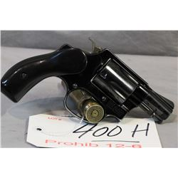 Prohib 12 - 6 Smith & Wesson Model 37 Airweight .38 Spec Cal 5 Shot Revolver w/ 51 mm bbl [ blued fi