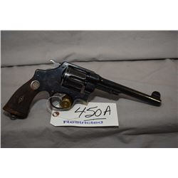 Restricted Smith & Wesson Model 455 Mark II Hand Ejector 2nd Model .455 Rev cal 6 Shot Revolver w/ 1