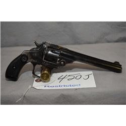 Restricted Unknown Model Smith & Wesson 38 Double Action Copy .38 S & W Cal 5 Shot Revolver w/ 147 m