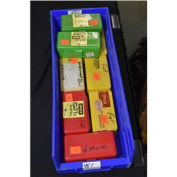 Blue Plastic Tray : Approx. Seven Full Boxes Plus 93 Rnds Reloaded Pistol Ammo .38 Spec Cal [ most a