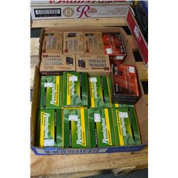"Tray Lot : Five Boxes ( 10 rnds per ) Hornady .12 Ga 2 3/4"" 00 Buck - 2 Boxes ( 10 rnds per ) Hornad"