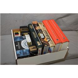 Box Lot : Reloading Manuals Including : Hornady Volumes One & Two - Two Nosler - One Speer - Plus Ap