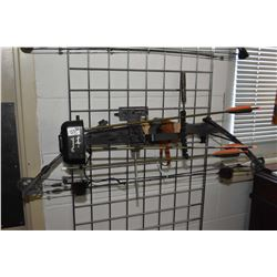 """Lot of Two Items : Martin Compound Bow Right Hand 45 - 60 Lb Pull String Length 34"""" Draw Length 28"""""""