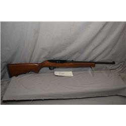 "Ruger 10/22 .22lr 18 1/2"" bbl mag fed semi-automatic rifle [possibly unfired, fixed front sight, fol"
