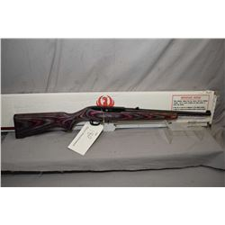 "Ruger 10/22 .22lr 16"" bbl mag fed semi-automatic rifle [possibly unfired, bottom tip of deluxe wood"