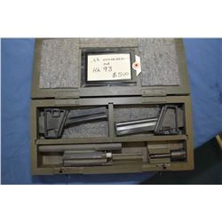 .22 Conversion kit for HK 93 in fitted wooden case