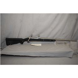 """Ruger M77 MK II, 300 win mag, mag feed, bolt action rifle, 24"""" bbl, five shot, fitted with stainless"""