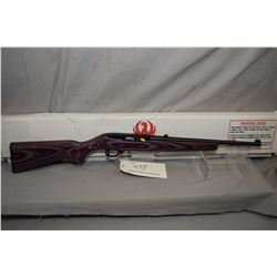 """Ruger 10/22 .22lr 16"""" bbl mag fed semi-automatic rifle [possibly unfired, fixed front sight, folding"""