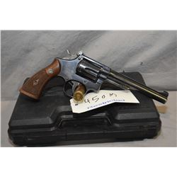 Restricted Smith & Wesson model 17 .22lr six shot revolver 150mm bbl [Fixed front sight, adjustable