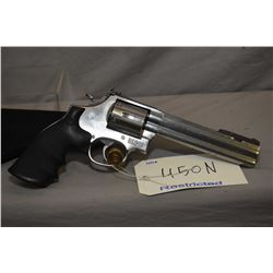 Restricted Smith & Wesson model 686-4 .357 magnum six shot revolver [four position adjustable front