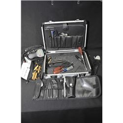 Selection of tools, some gunsmith specific including Ayman electric trigger pulls gauge etc.
