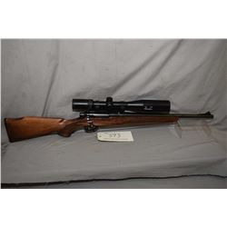 """Remington Mohawk 600, .243 Win bolt action, mag feed five shot rifle, 18"""" bbl, fitted with Simmons P"""