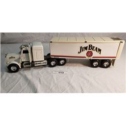 Jim Beam Tractor Trailer Decanter