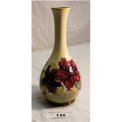 Moorcroft Vase Paper Tag, The Queen