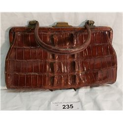 Vintage Alligator Handbag w/ Spines