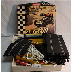 Scalextric Model Motor Racing Set in Original Box