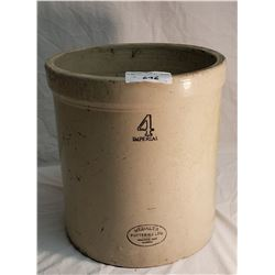 Medalta Crock, 4 Imperial Gallon