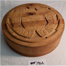 Wooden Clarence Well salmon Box