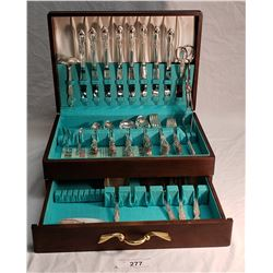 Rogers & Son Victorian Rose & Silverware