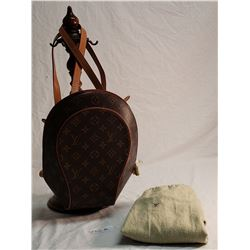 Louis Vuitton Back Bag, w/Protective Cloth L.V. Bag (Original)