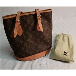 Louis Vuitton Hand Bag, w/ Protective Cloth L.V. Bag (Original)