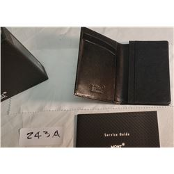 Mont Blanc Black Wallet in Box (Original)