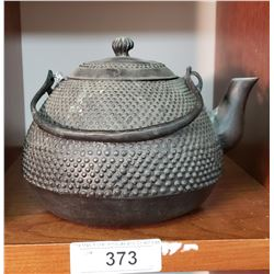 Cast Iron Asian Teapot