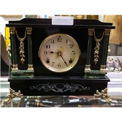 Ingraham Mantel Clock, Working