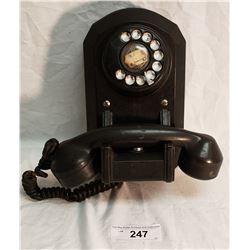 Bakelite 1940's Wall Phone