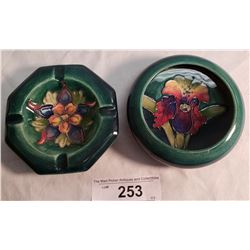 Moorcroft Bowl & Moorcroft Ashtray