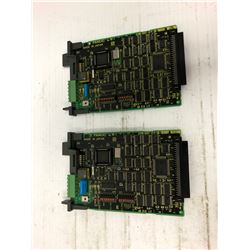 (2) FANUC A20B-8001-0700/02B INTERFACE CARD