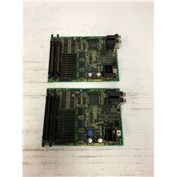 (2) FANUC A20B/2002-0521/05A AND A20B/2002-0521/06A DRIVE BOARDS