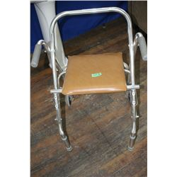 Senior's Walker with Seat - Must Pick Up