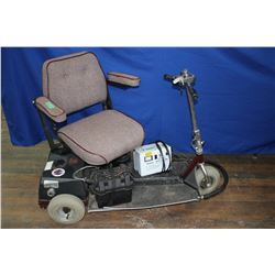 Senior's 3 Wheel Mobility Cart - With Charger - Works Well - Must Pick Up