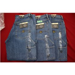 Carpenter Denim Jeans - Good Quality - Relaxed Fit ** Size 32 Waist/30 Leg - 3 prs (One Money)
