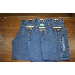 Carpenter Denim Jeans - Good Quality - Relaxed Fit ** Size 32 Waist/32 Leg - 3 prs (One Money)