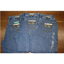 Carpenter Denim Jeans - Good Quality - Relaxed Fit ** Size 36 Waist/30 Leg - 3 prs (One Money)