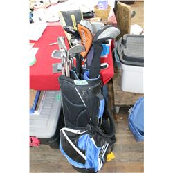 Golf Bag w/19 Clubs - Right Hand ** Must be Picked Up