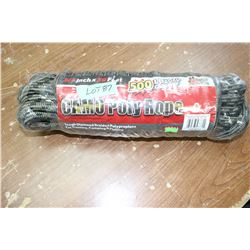 "Camo Poly Rope - 500 ft., 3/4"", 500 lb. capacity"