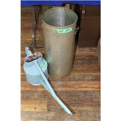 Metal Creamer & Garden Watering Can