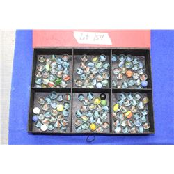 Marble Collection in a Box w/Red Lid