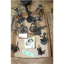 Flat w/8 Nuts & Bolts Figurines