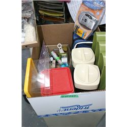 Box of Household Miscellaneous Items