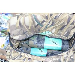 """2 Pkgs of Blind Material - 12' Long x 60"""" High - In a Camo Tote Bag"""