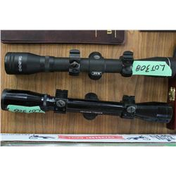 Bushnell Spotview Scope & a Tasco MAG Scope