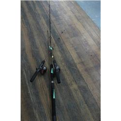 6 ft. Fishing Rod & 2 Ice Fishing Rods