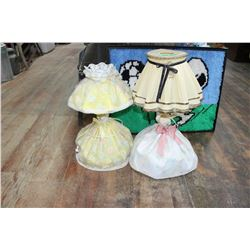 2 Lamps (Ceramic Doll Centers)