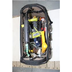 Tote of Miscellaneous Tools